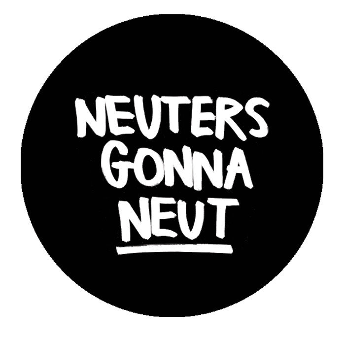 Neuters gonna neut! Zwart