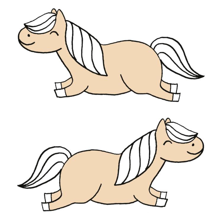 pony's strijkapp