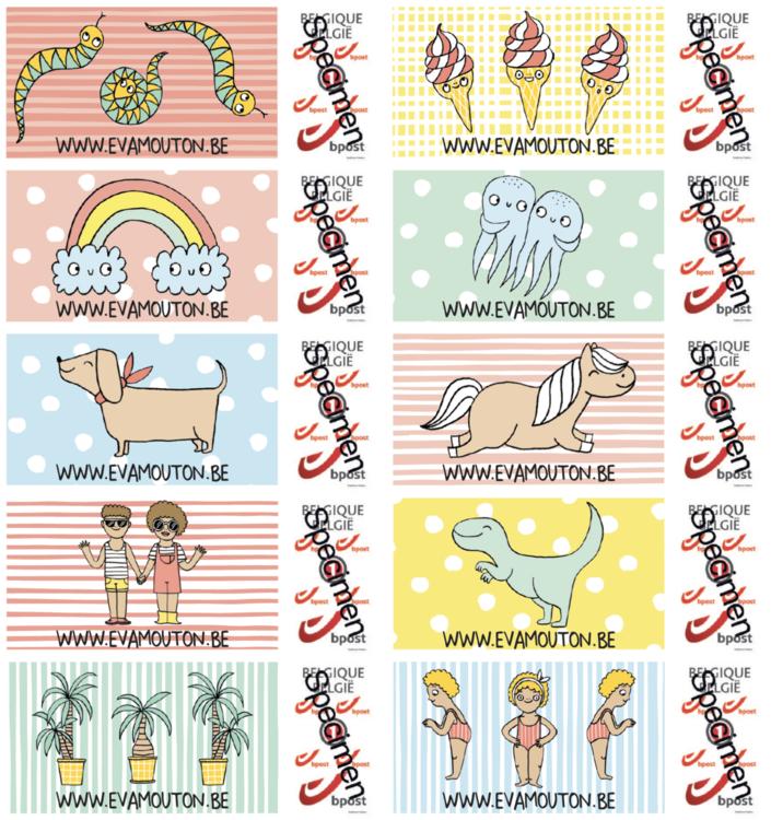 eva's postzegels