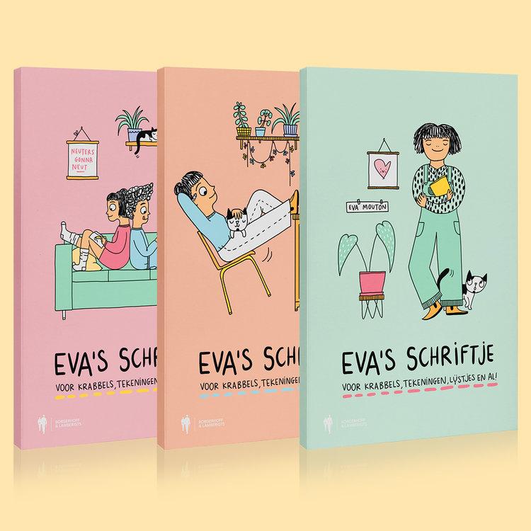 PRE ORDER Eva's schriftjes (3 exemplaren)